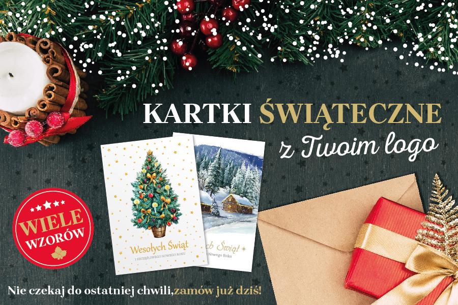 Zaawansowane Kartki świąteczne z logo Twojej firmy już czekają! - Eurocent QU23