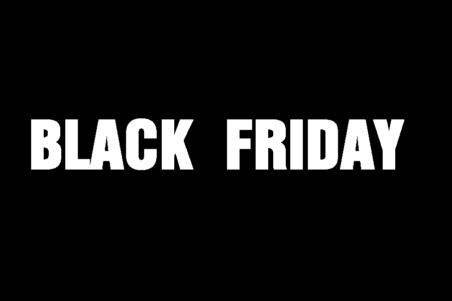 Projekt graficzny na Black Friday